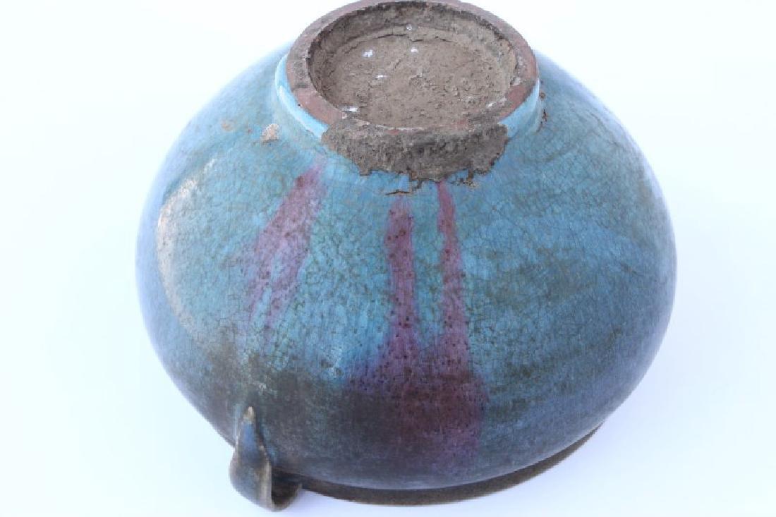 Chinese Junyao Glazed Vase, - 4