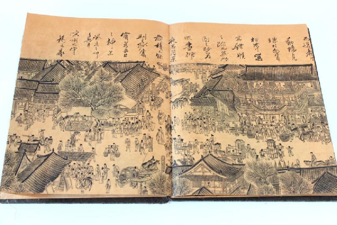 Chinese Folding Book, - 10