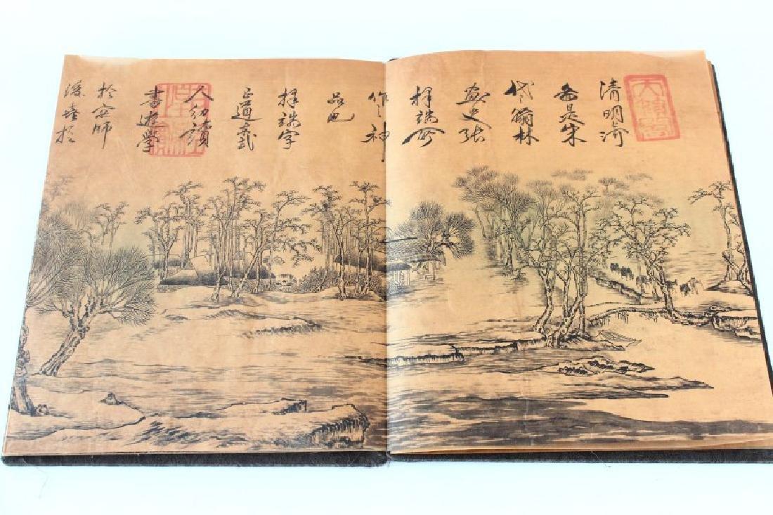 Chinese Folding Book, - 3