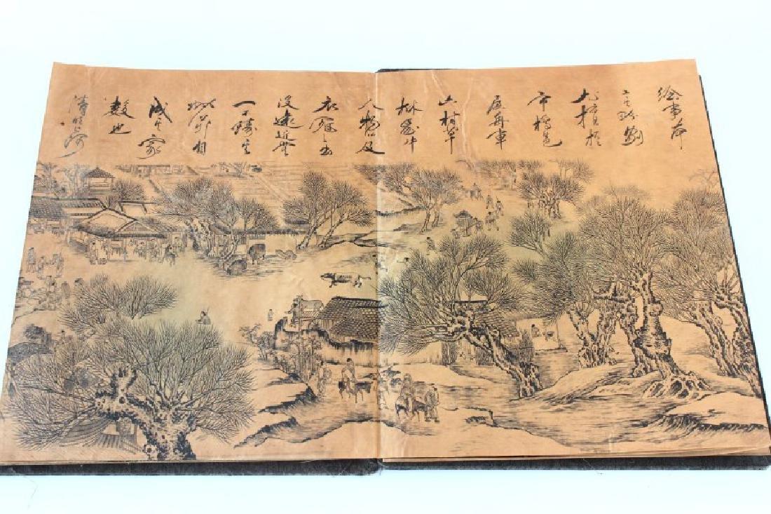 Chinese Folding Book, - 4
