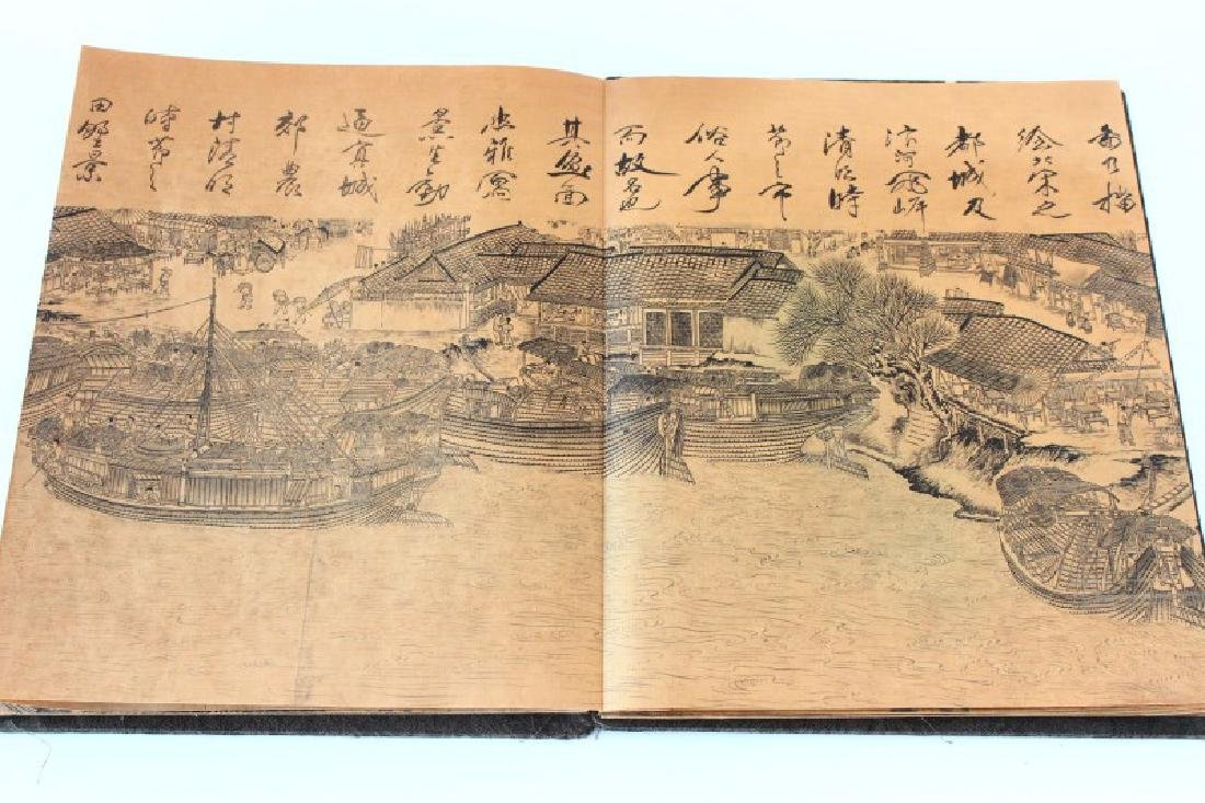 Chinese Folding Book, - 5