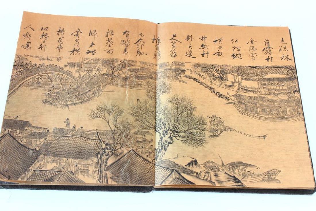 Chinese Folding Book, - 6