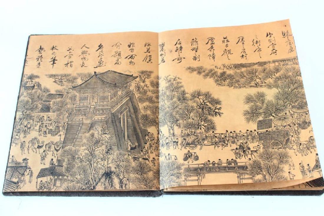 Chinese Folding Book, - 9