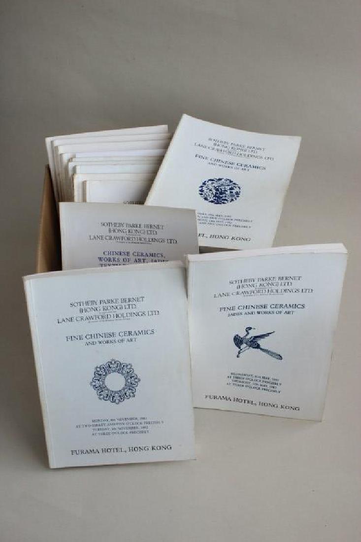 """Thirteen """"Fine Chinese Ceramics"""", 1975 to 1983,"""