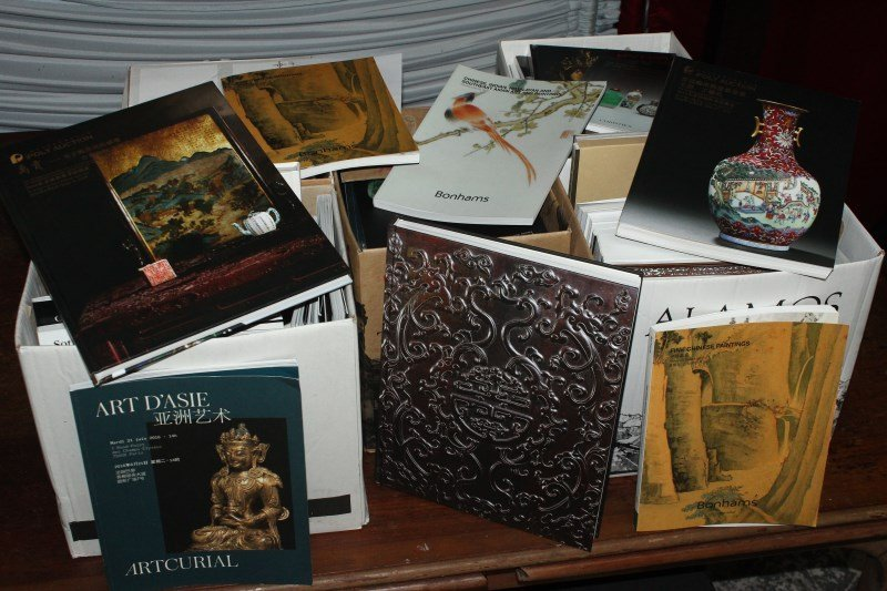 Large Quantity of Asian Art Auction Catalogues,