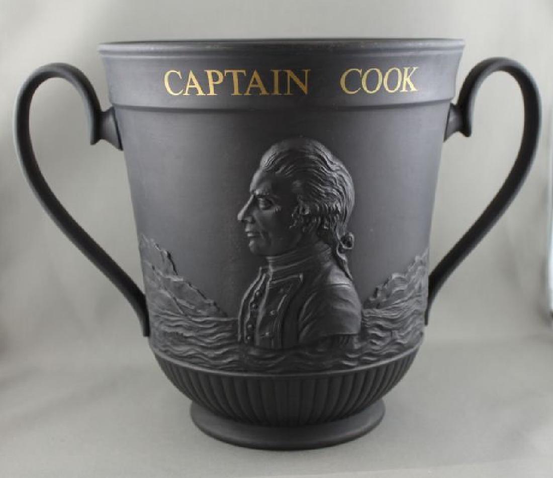 Royal Doulton Black Basalt Loving Cup,