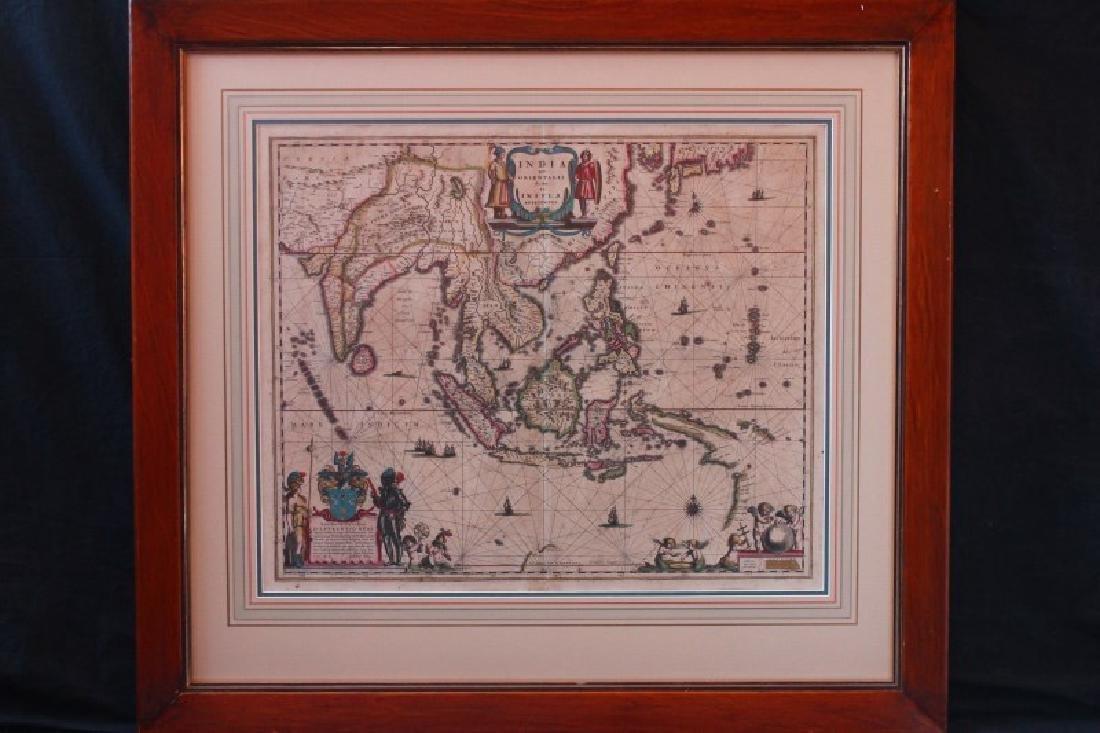 """Mid 17th Century """"India Que Orientalis Dictur"""
