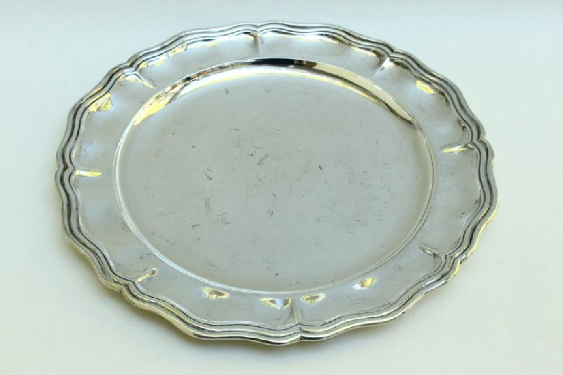 Italian Sterling Silver Salver,