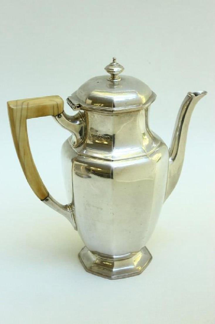 English Sterling Silver Coffee Pot,