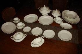 Extensive Rosenthal Porcelain Dinner Service,