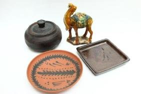 Four Assorted Items,