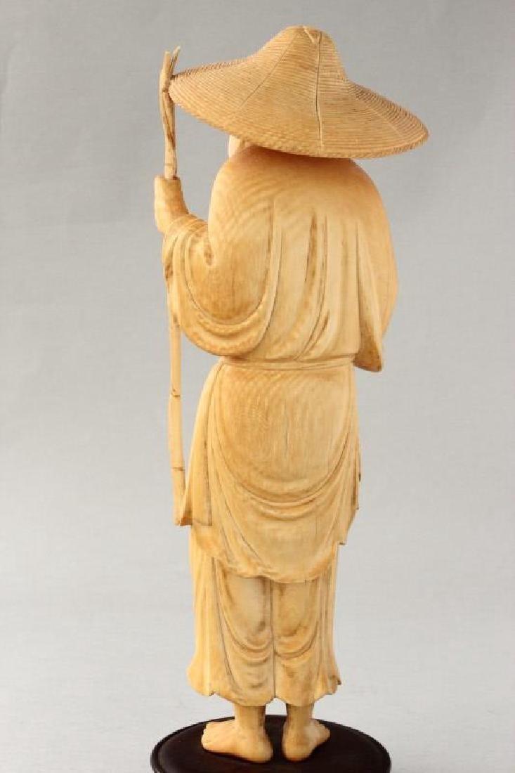 Chinese Figure of Fisherman, - 4
