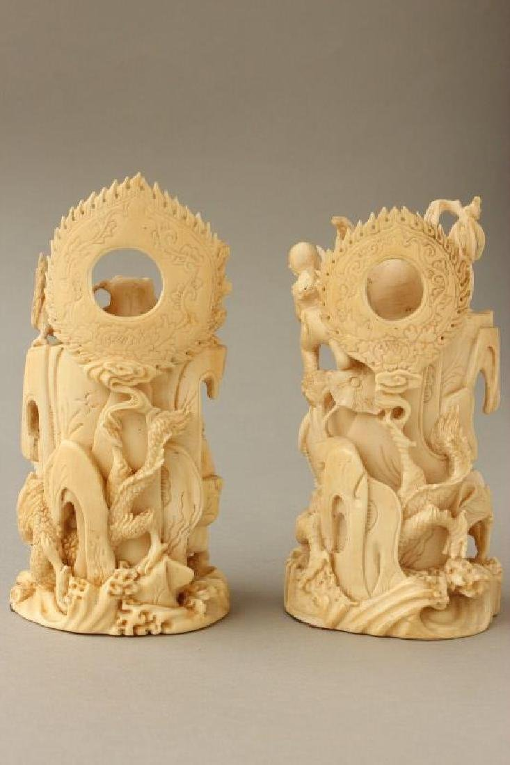 Two Chinese Late Qing Dynasty Kwan Yins, - 4
