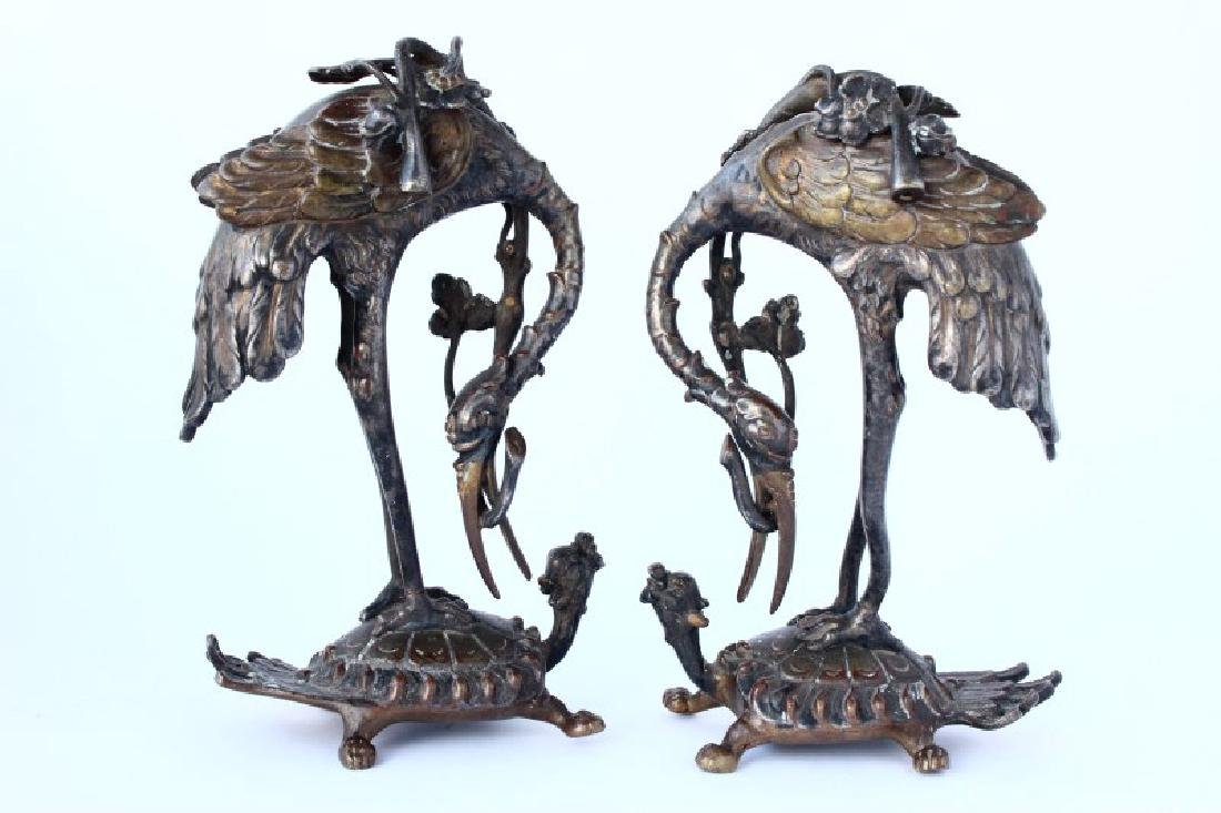 Wonderful Pair of Japanese Figures,