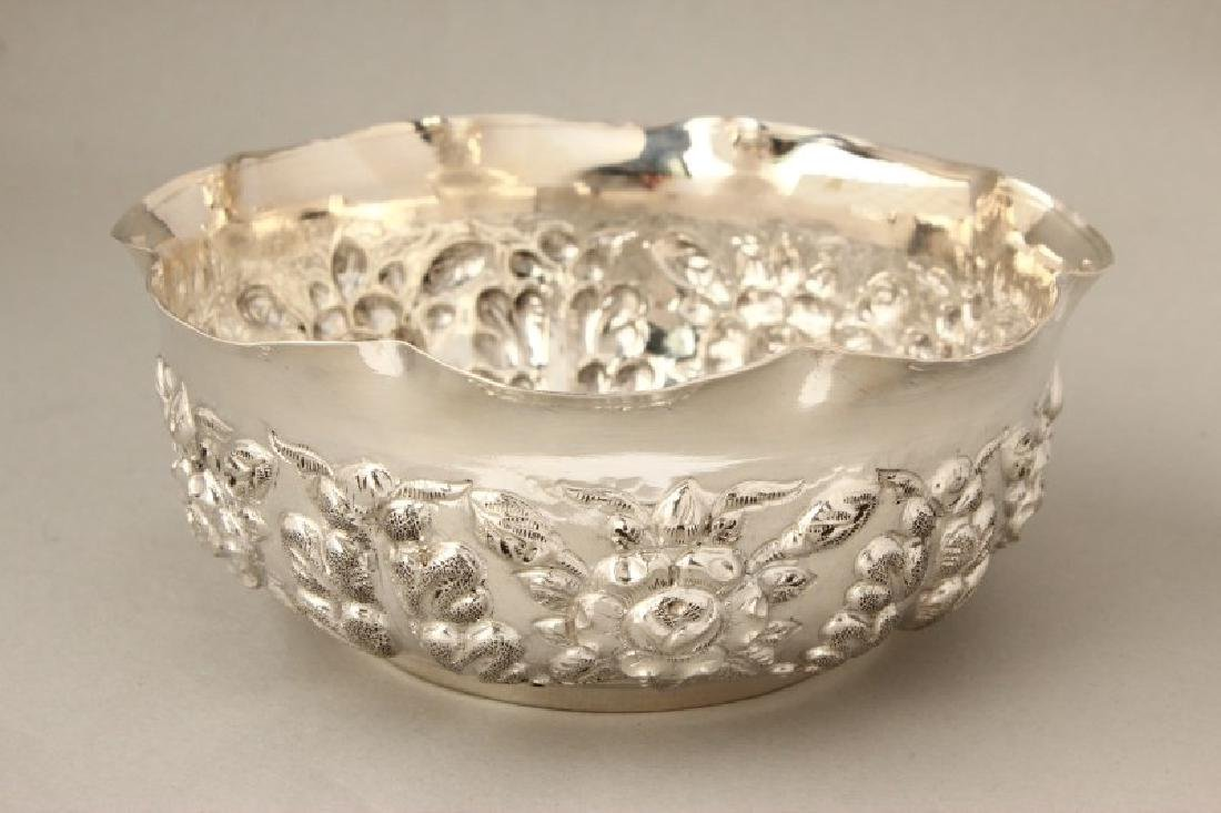 Indian Silver Ceremonial Bowl,