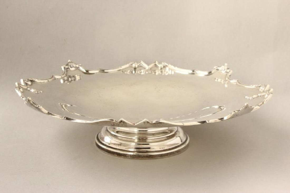 English Sterling Silver Comport,