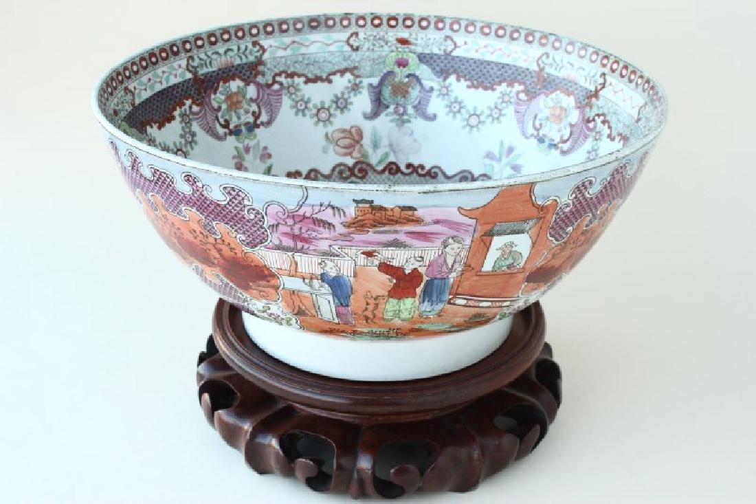 """Chinese 18th Century Export Ware """"Mandarin Palette"""