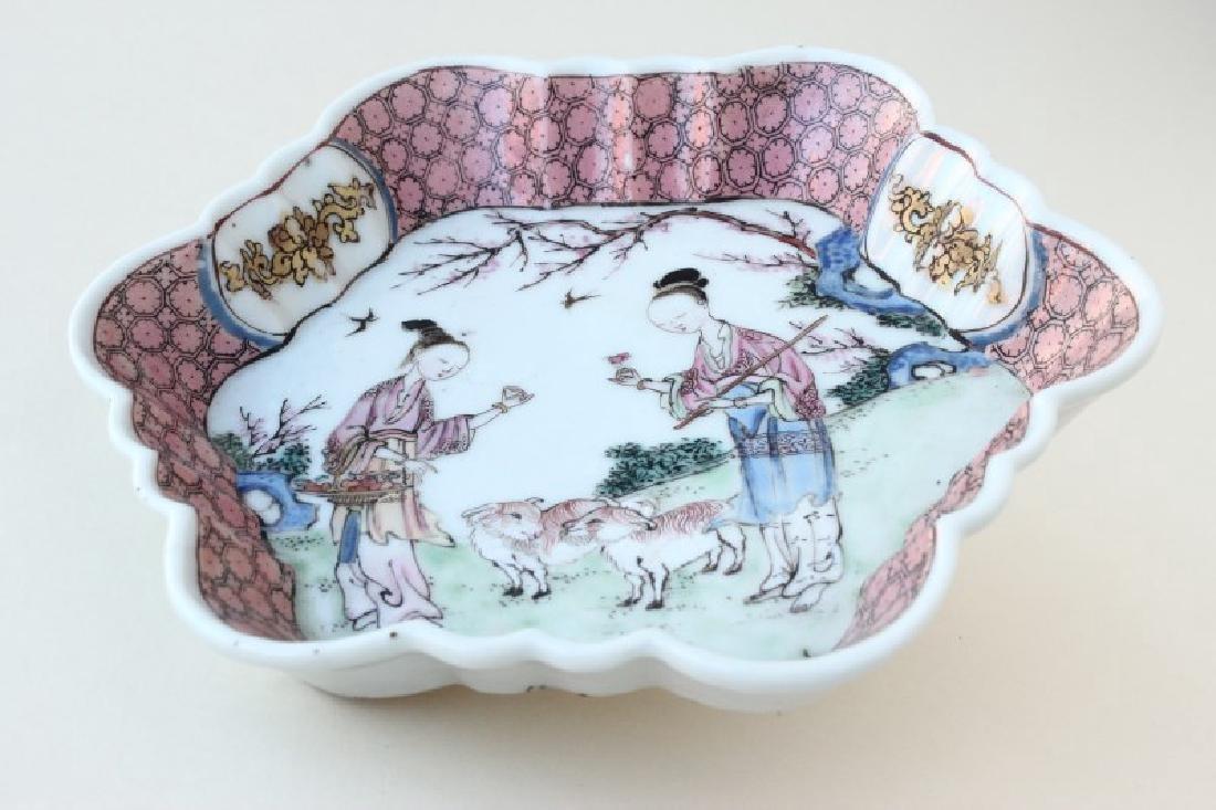 Chinese Yongzheng Period Porcelain Dish,
