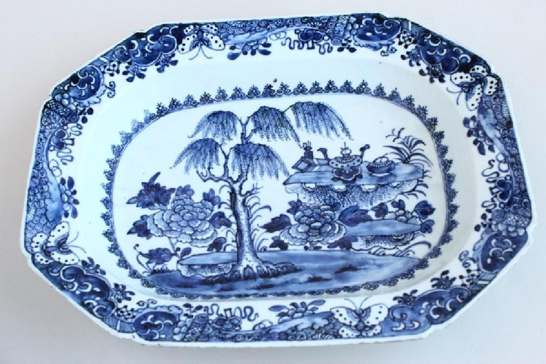 Chinese Qing Dynasty, Qianlong Period Dish,