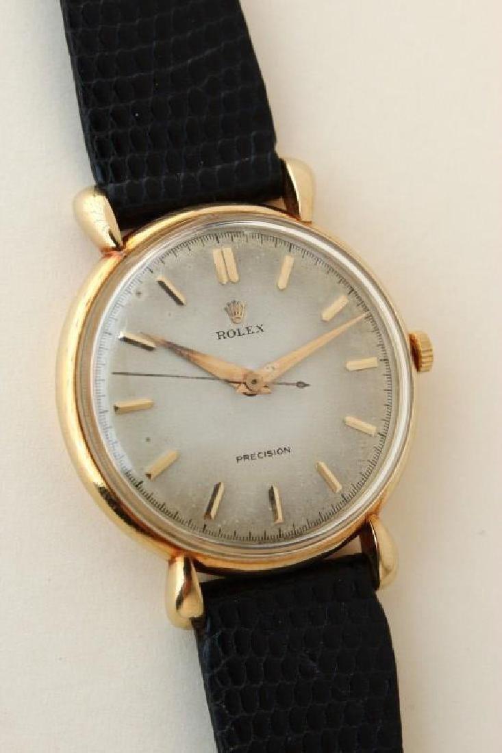 Gentleman's 18ct Gold Rolex Wristwatch,