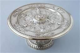 Victorian Elkington Silver Plate Tazza c1874