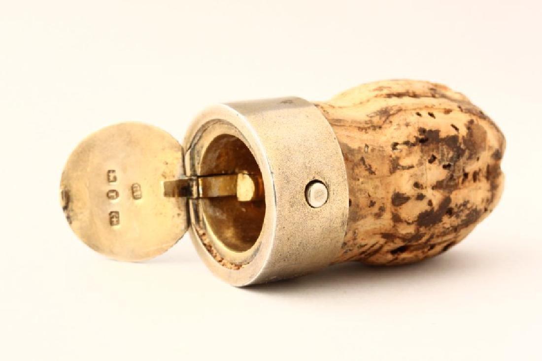 Victorian Sterling Silver Vesta Case, - 2