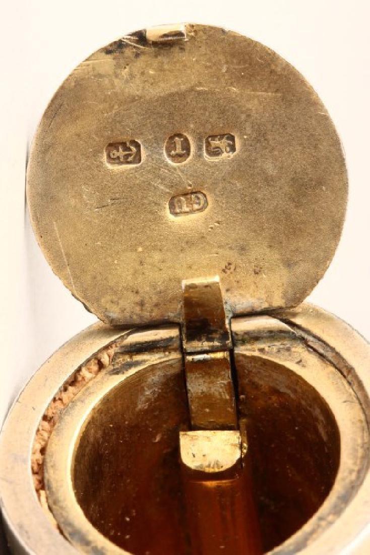 Victorian Sterling Silver Vesta Case, - 3