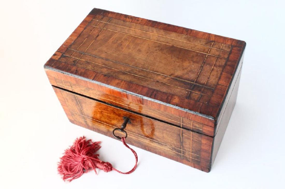 Victorian Tea Caddy, - 3