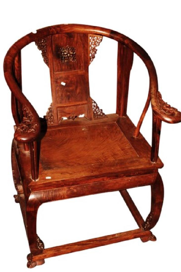 Good Chinese Horseshoe Back Chair,