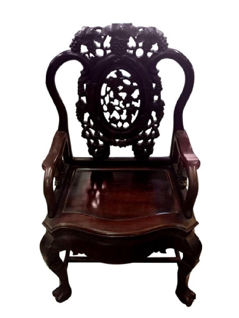 Good Chinese Export Armchair,