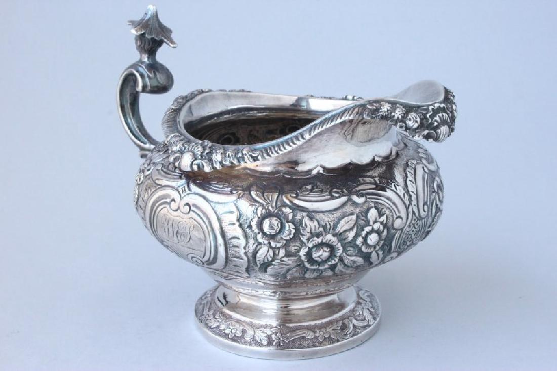 George III Sterling Silver Creamer, - 2