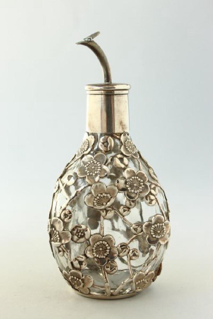 Chinese Sterling Silver Bitters Bottle,