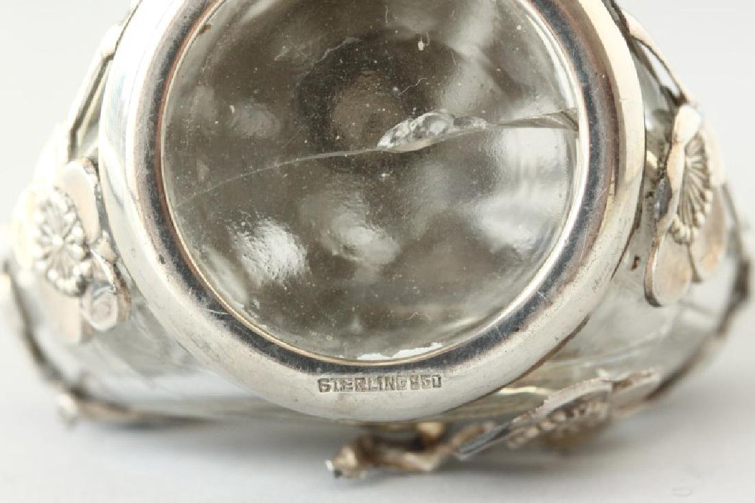Chinese Sterling Silver Bitters Bottle, - 3