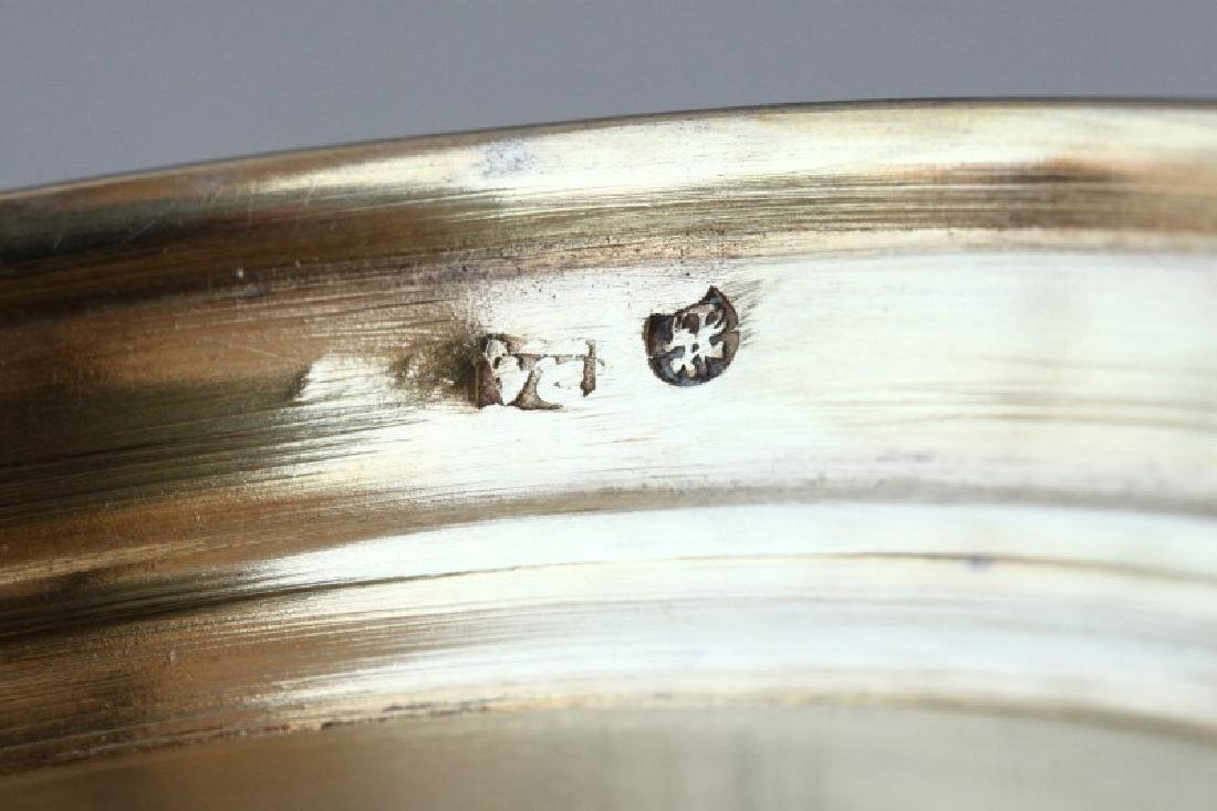 Fine Pair of 19th Century Russian Silver and - 6