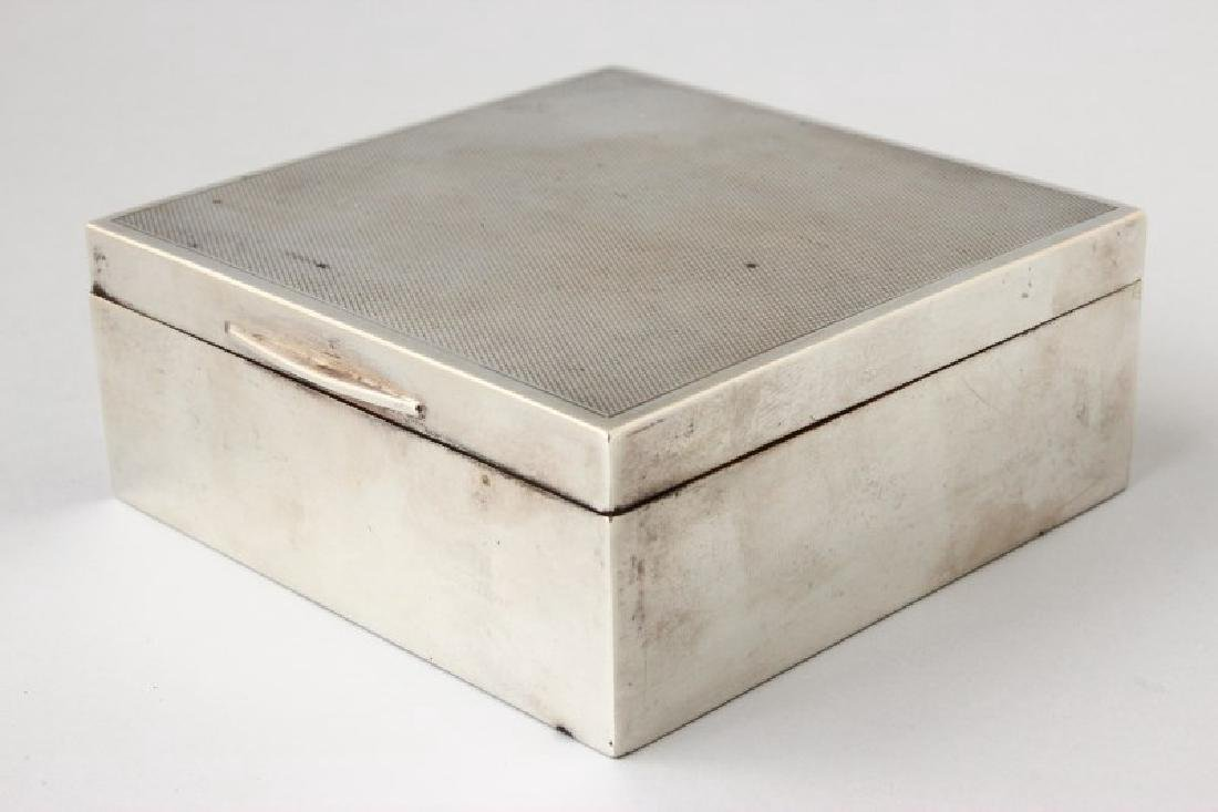 Australian Sterling Silver Box and Cover,