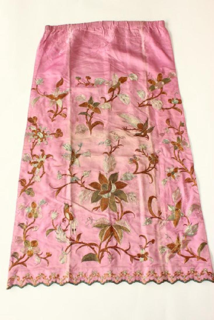 Chinese Republic Period Skirt, - 3