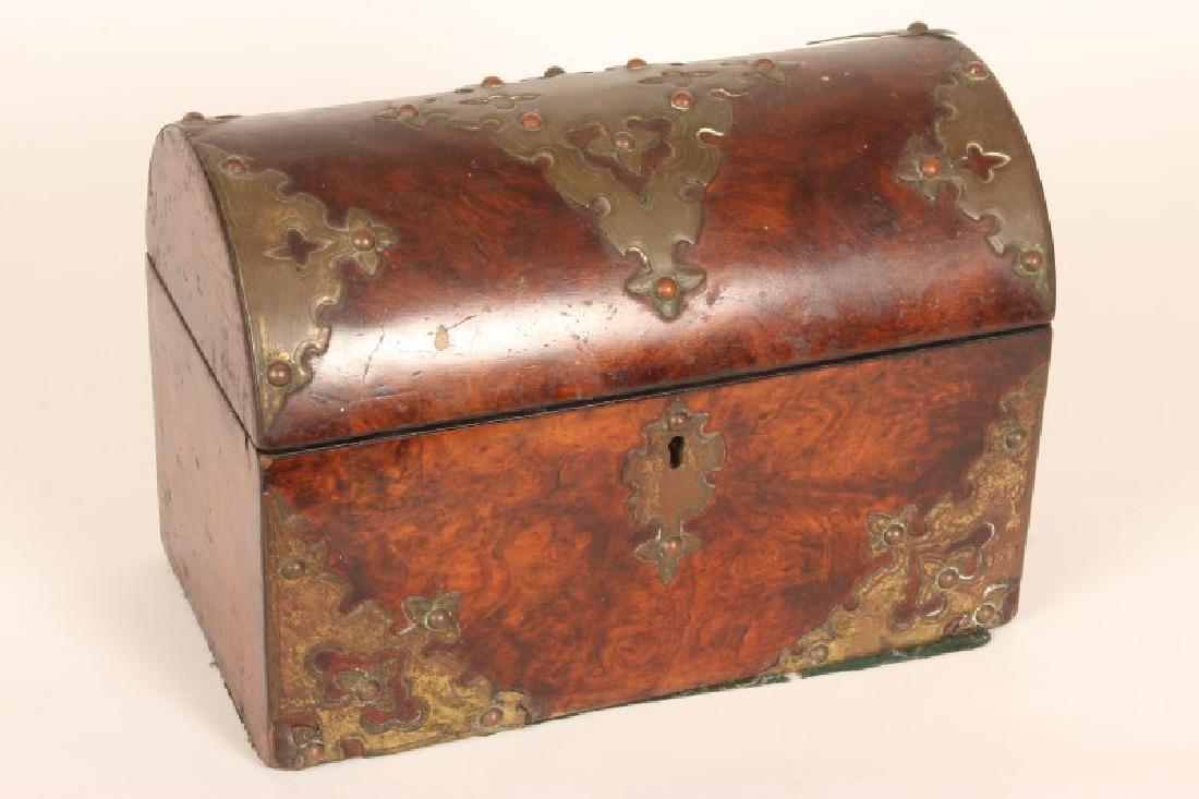 Late Victorian Tea Caddy,