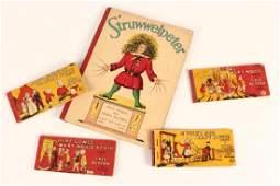 Five Vintage Children's Books,