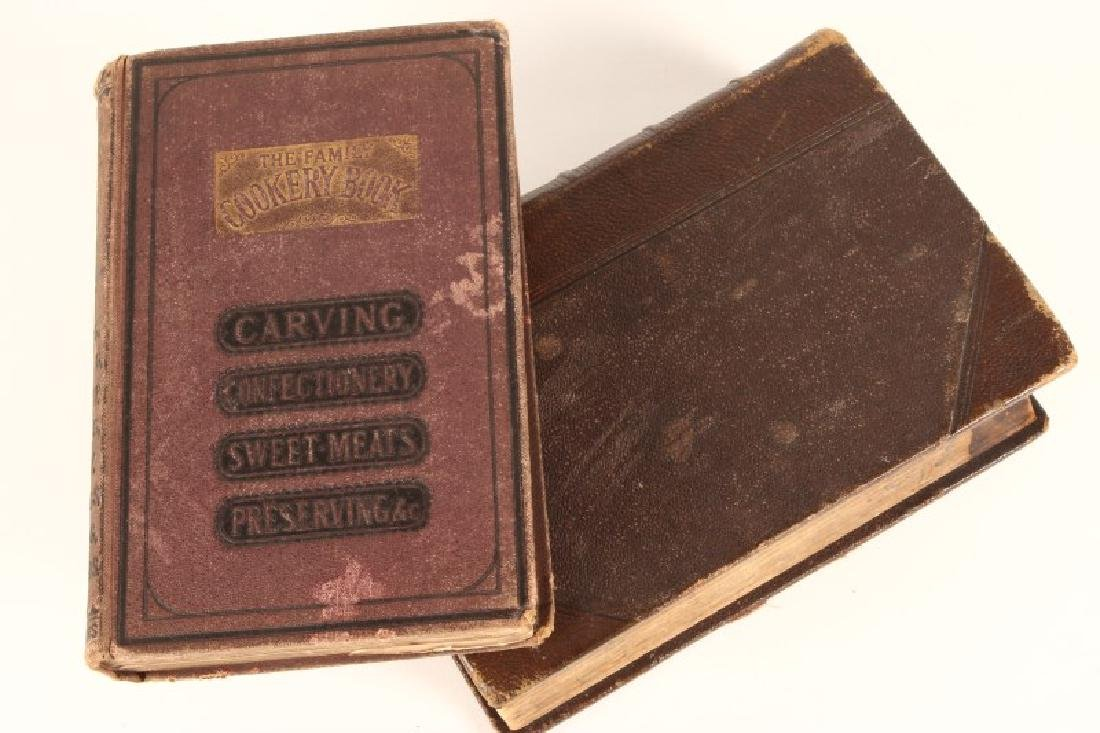 "Early Leather Bound Book ""Household Management"""