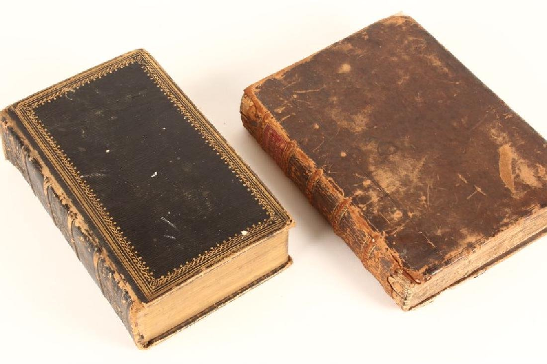 17th Century Leather Bound Book,