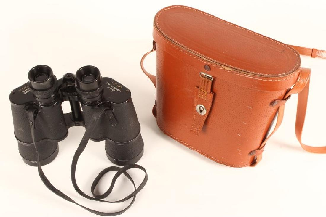 Pair of Leather Cased Space Master Binoculars,