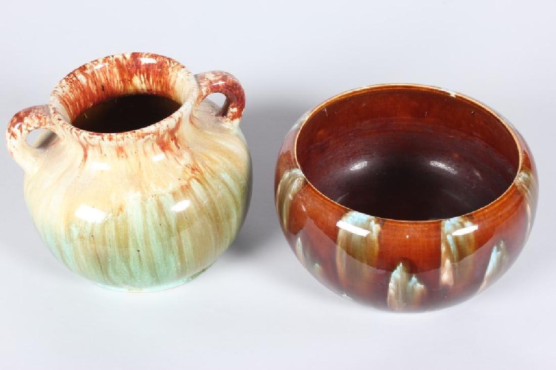John Campbell Australian Pottery Twin Handled Vase