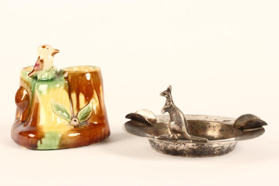 Australian Kangaroo Ashtray,