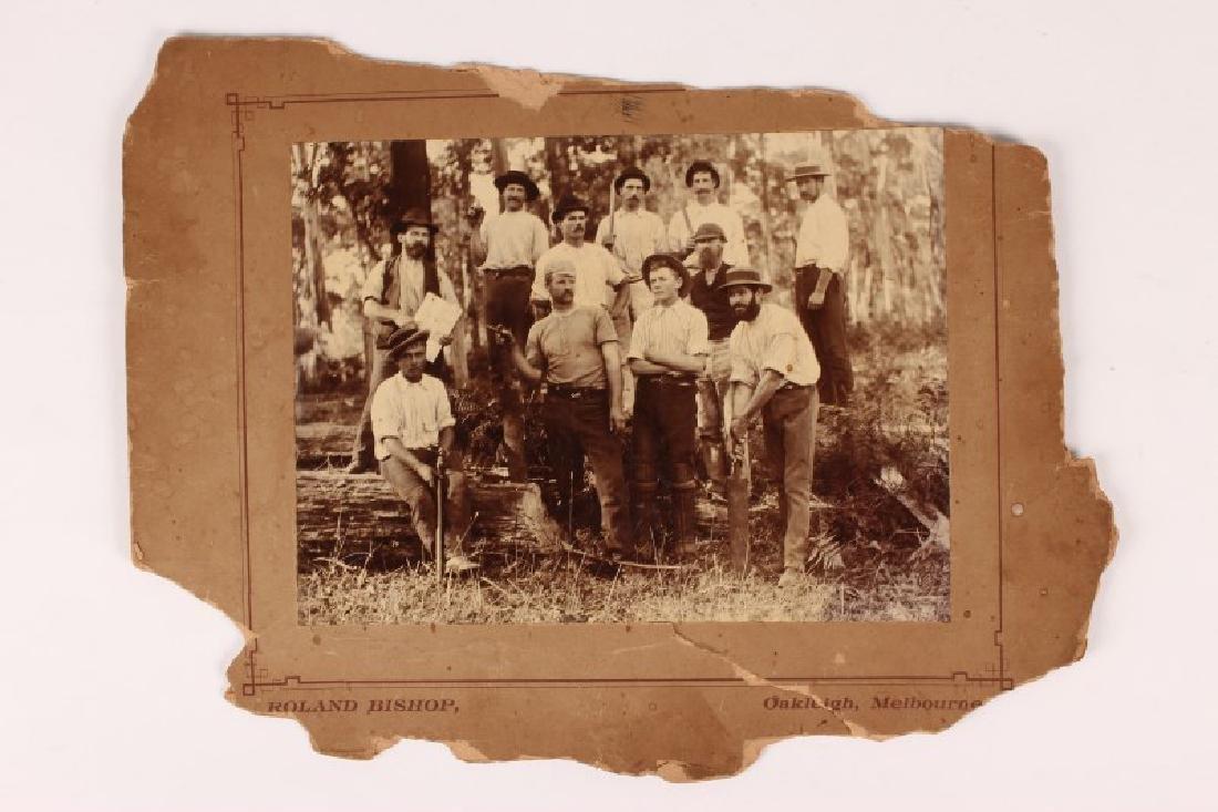 Early Australian Cricket Photograph,