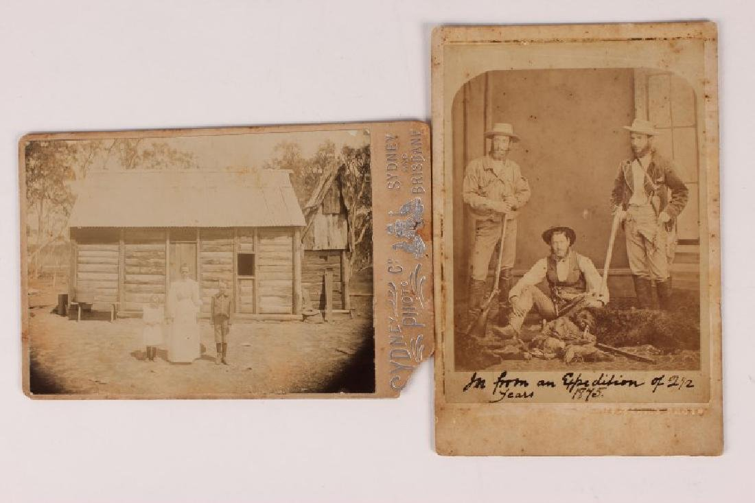 Early Australian Studio Photograph by Charles