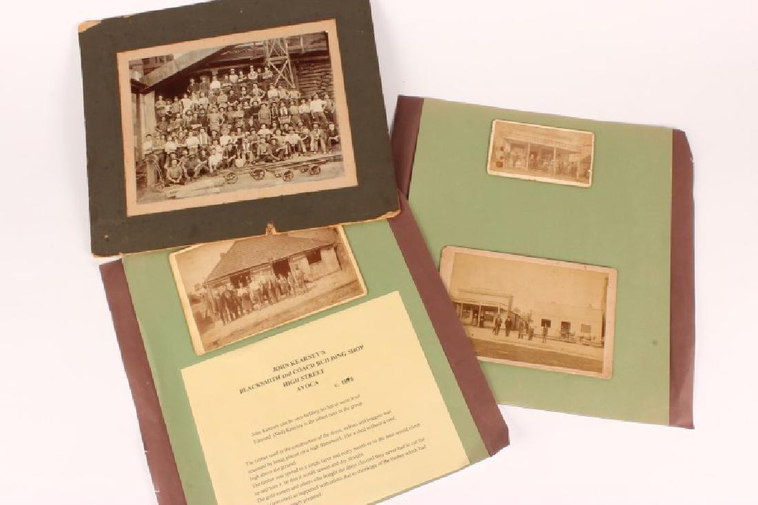 Four Early Australian Photographs,