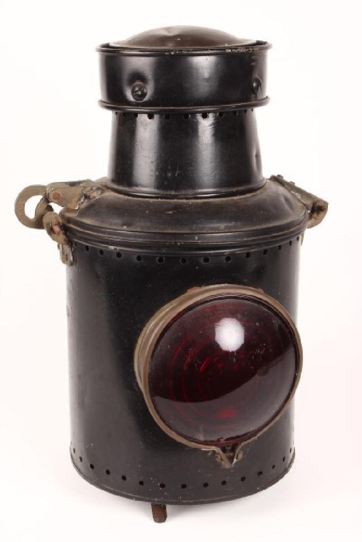 Edwardian Tin Carriage Light,