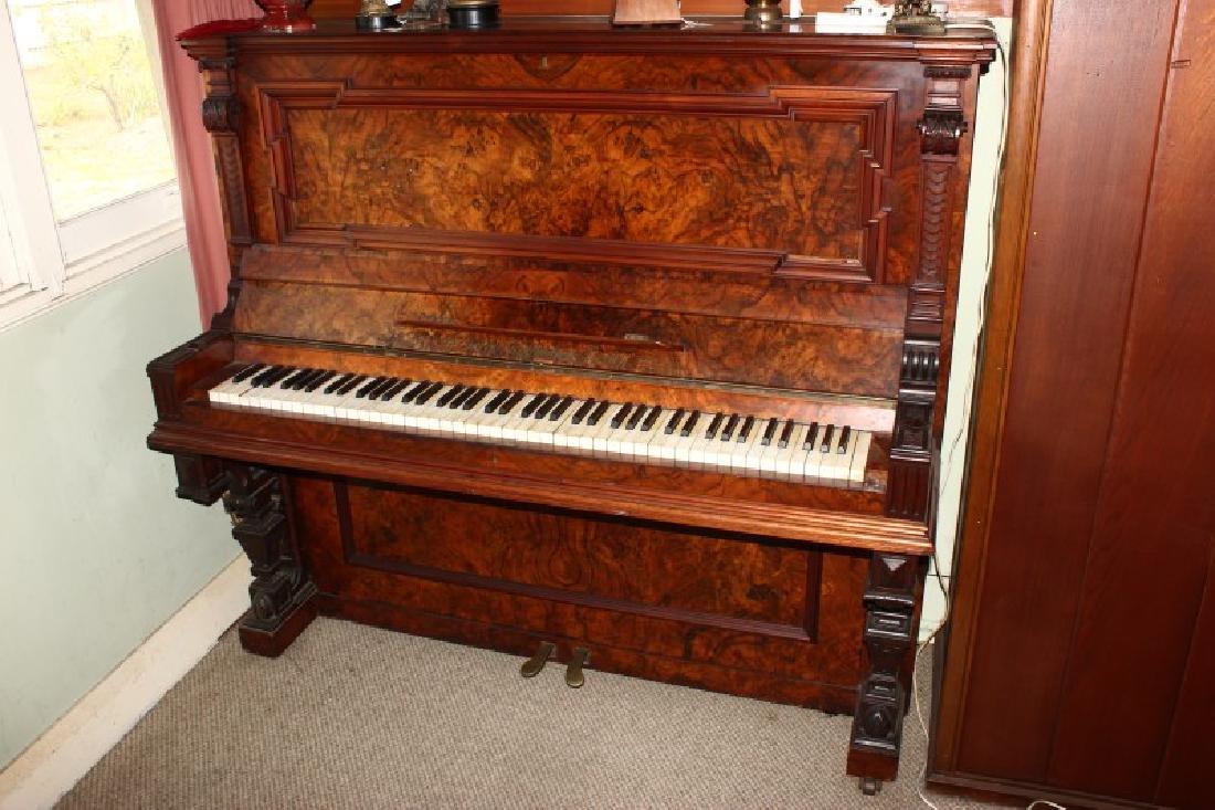 Gors & Kallman Upright Piano,