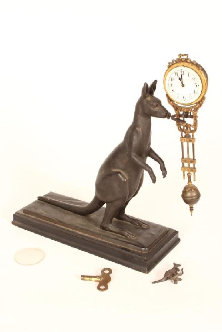 Kangaroo Mystery Clock,