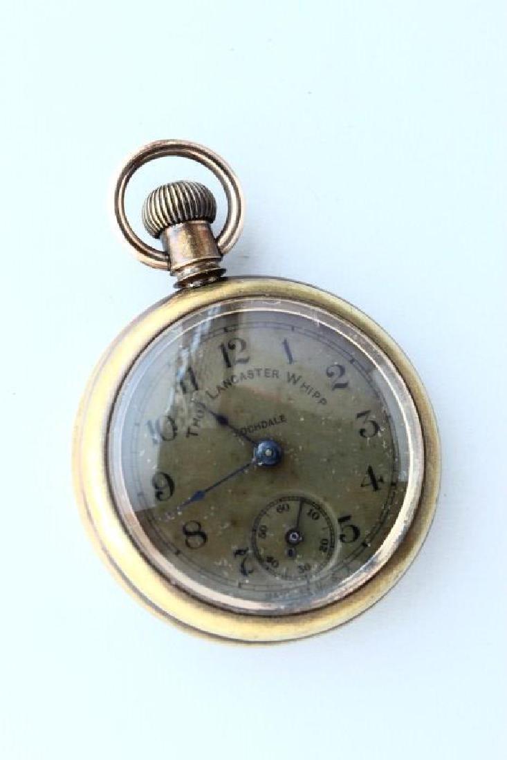 Gentleman's Thomas Lancaster Whipp Pocket Watch,